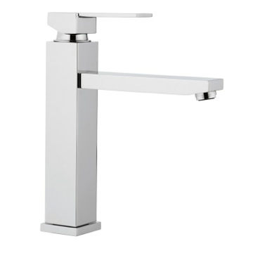 Chrome Single Hand Bathroom Sink Faucet