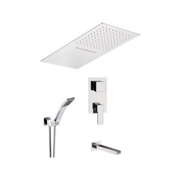 Tub and Shower Faucet, Remer QC94S04UFCA