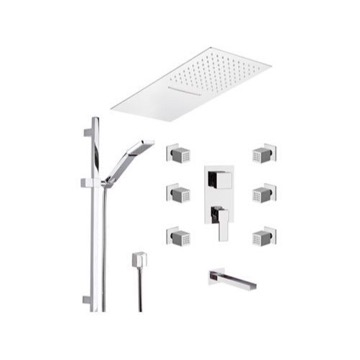 Tub and Shower Faucet, Remer QC95S04UFCA