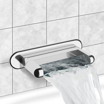 Chrome Wall Mount Waterfall Tub Spout