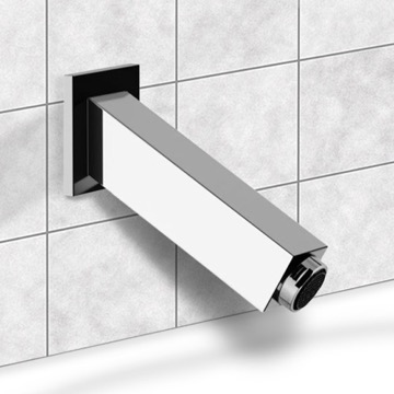 Chrome Wall Mount Bathtub Spout