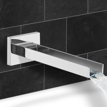 Wall mount Waterfall Tub Spout