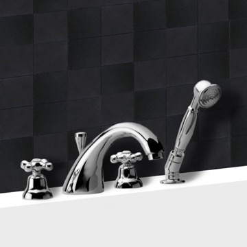 Roman Bathtub Faucet with Personal Shower
