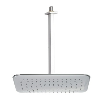 Shower Head, Contemporary, Chrome, Brass,ABS, Remer Enzo, Remer 347S-356RE