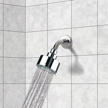 Full Spray 3 Function Shower Head with Arm