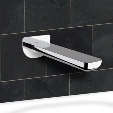 Chrome Wall Mounted Tub Spout