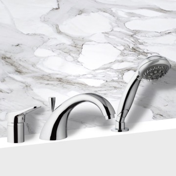 Roman Tub Faucet with Personal Shower
