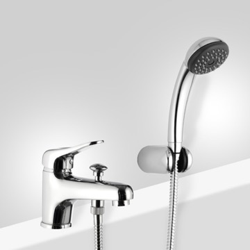 Chrome Bathtub Faucet with Personal Shower