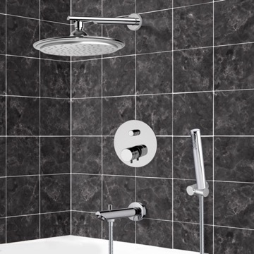 Tub and Shower Faucet, Remer NT09S03US