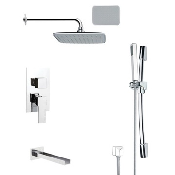 Remer TSR9134 Tub and Shower Faucet, Galiano - Nameek\'s
