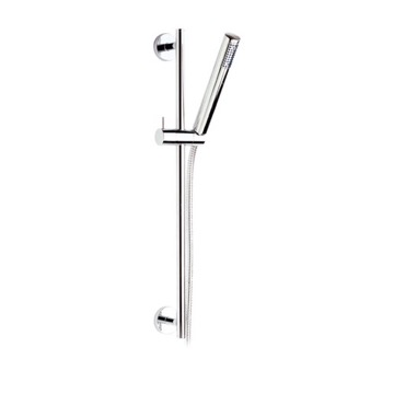 24 Inch Sliding Rail Hand Shower Set With Sleek Hand Shower
