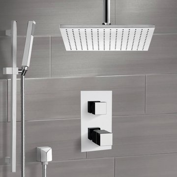 Thermostatic Shower System with Ceiling 12