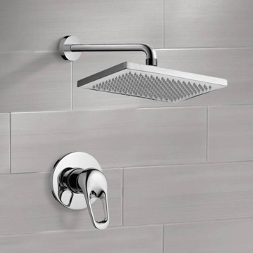 Shower Faucet Set with 9.5