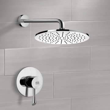 Shower Faucet Set with 12