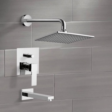 Tub and Shower Faucet, Remer TSF07