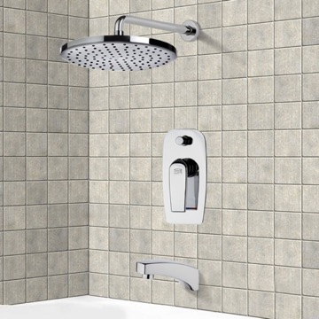 Tub and Shower Faucet, Remer TSF2004