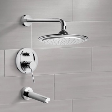 Tub and Shower Faucet, Remer TSF2008