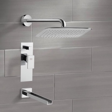 Tub and Shower Faucet, Remer TSF2011