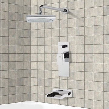 Tub and Shower Faucet, Remer TSF2016
