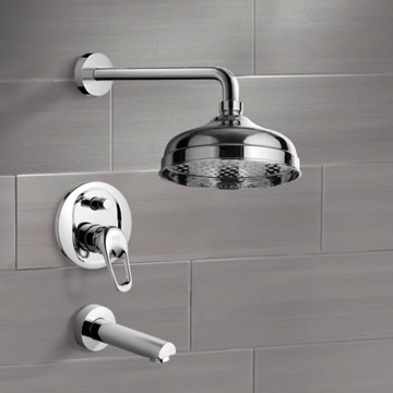 Tub and Shower Faucet, Remer TSF2040