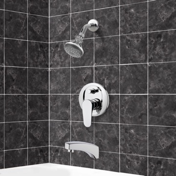 Tub and Shower Faucet, Remer TSF2056