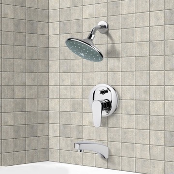 Tub and Shower Faucet, Remer TSF2064