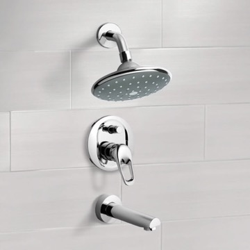 Tub and Shower Faucet, Remer TSF2066