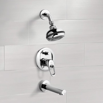 Tub and Shower Faucet, Remer TSF2082