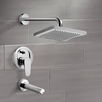 Tub and Shower Faucet, Remer TSF2129