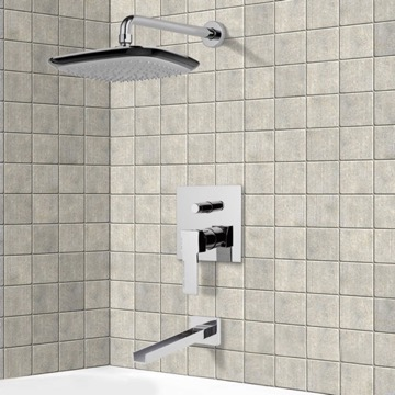 Tub and Shower Faucet, Remer TSF2157