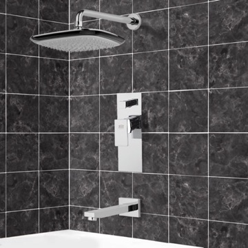 Tub and Shower Faucet, Remer TSF2160