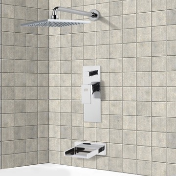 Tub and Shower Faucet, Remer TSF2190
