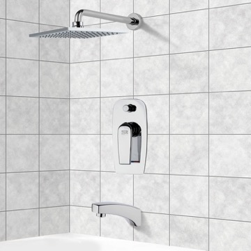 Tub and Shower Faucet, Remer TSF2193