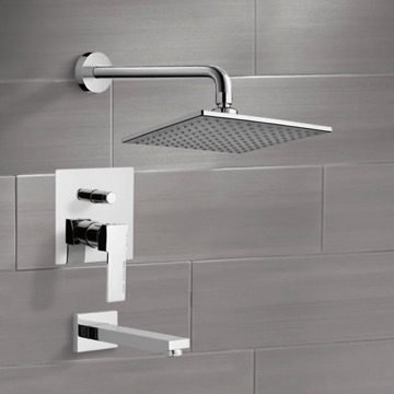 Tub and Shower Faucet, Remer TSF2223