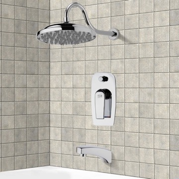 Tub and Shower Faucet, Remer TSF2286