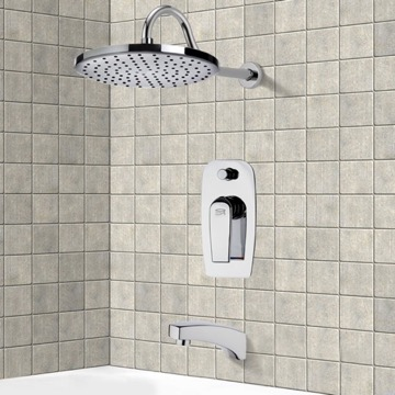 Tub and Shower Faucet, Remer TSF2292
