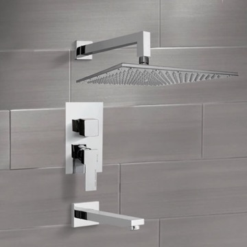Tub and Shower Faucet Sets with 14