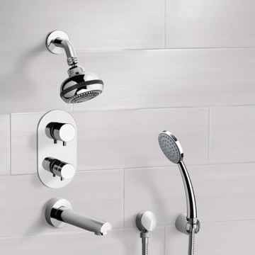 Tub and Shower Faucet, Remer TSH04
