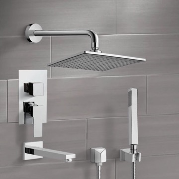 Tub and Shower Faucet, Remer TSH06