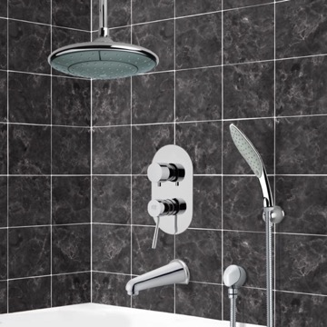 Tub and Shower Faucet, Remer TSH4006