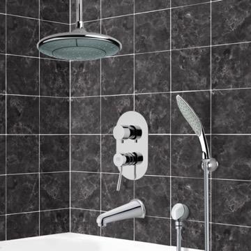 Tub and Shower Faucet, Remer TSH4006