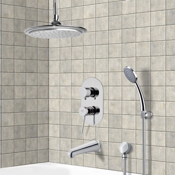 Tub and Shower Faucet, Remer TSH4008