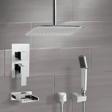 Tub and Shower Faucet, Remer TSH4019