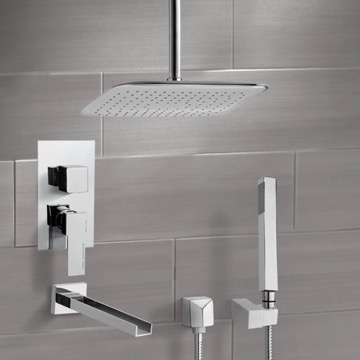 Tub and Shower Faucet, Remer TSH4020