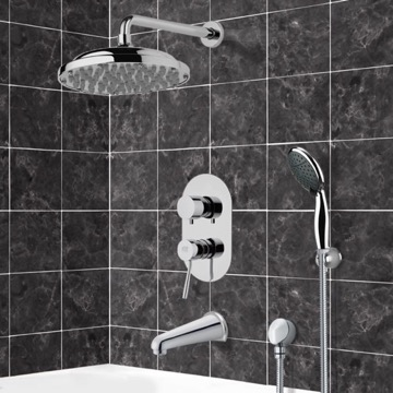 Tub and Shower Faucet, Remer TSH4052