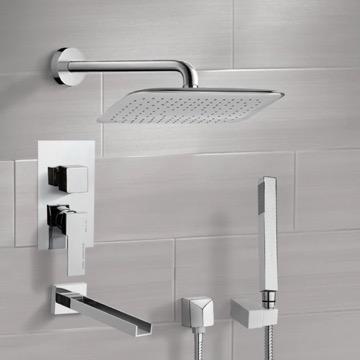 Tub and Shower Faucet, Remer TSH4055
