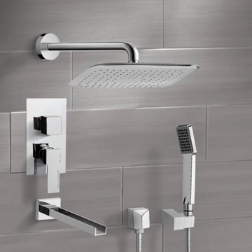 Tub and Shower Faucet, Remer TSH4056