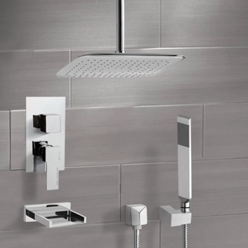Tub and Shower Faucet, Remer TSH4057