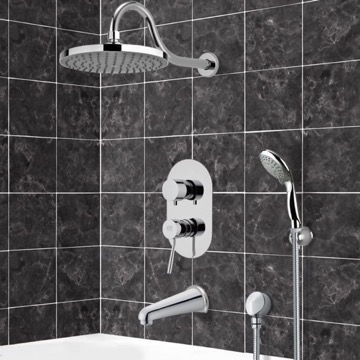 Tub and Shower Faucet, Remer TSH4064