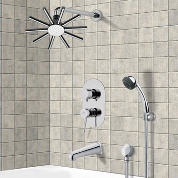 Tub and Shower Faucet, Remer TSH4086